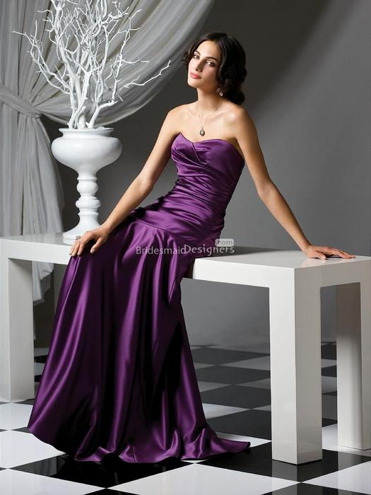 Wedding - Purple Bridesmaid Dresses at Bridesmaiddesigners.com