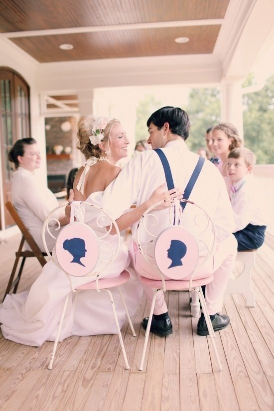 Mariage - 10 Jolie parfaits signes de chaise de mariage