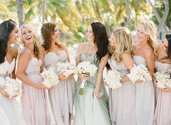 Wedding - New Custom AsA Bridesmaids Dresses --The Abalone Style