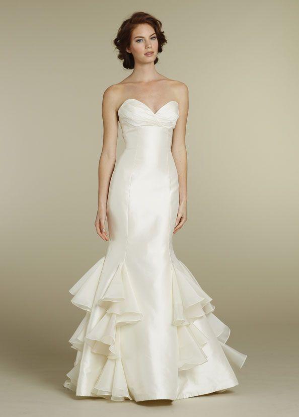 Свадьба - Свадебное платье без бретелек Вдохновение