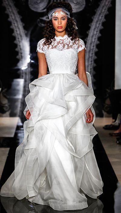Wedding - Reem Acra Spring 2014 Wedding Dresses