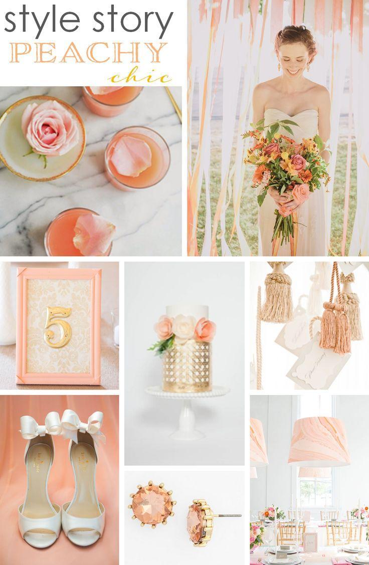 Wedding - Style Story: Peachy Chic