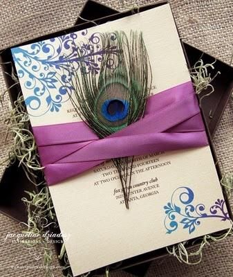 Mariage - Peacock Wedding Theme