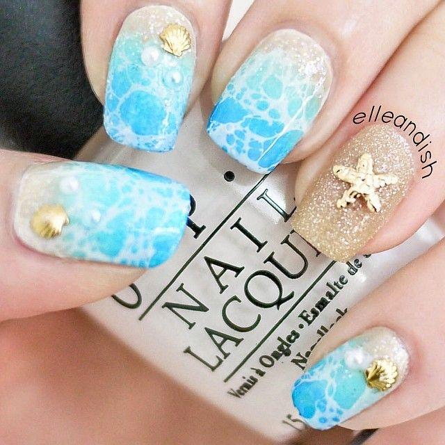 Свадьба - Tropical Nail Art That'll Transport You To Paradise