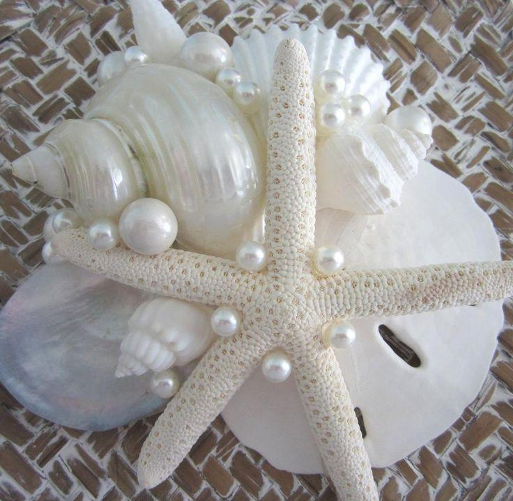 Mariage - Beach Decor Seashell Box Set Of 3