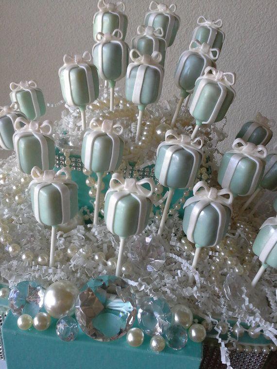 Tiffany Box Tiffany Inspired Cake Pops Breakfast At Tiffanys