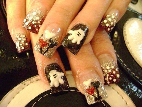 Disney Wedding 79 Wonderful Disney Nail Art Designs 2153232