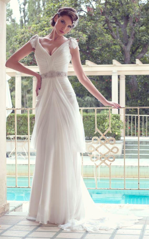 Düğün - Short Sleeved/Cap Sleeved/Off The Shoulder Sleeves Wedding Gown Inspiration