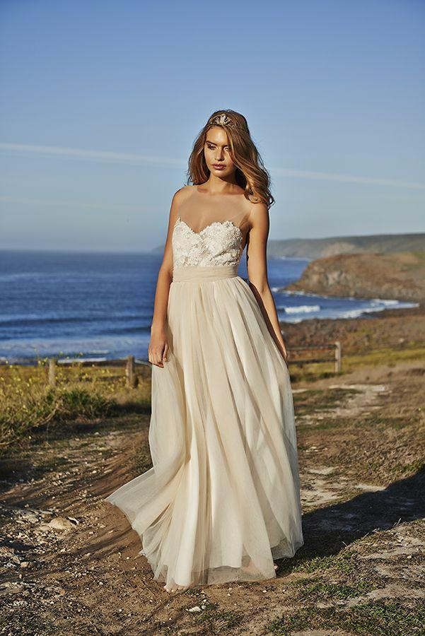 Boda - Sleeveless Wedding Gown Inspiration