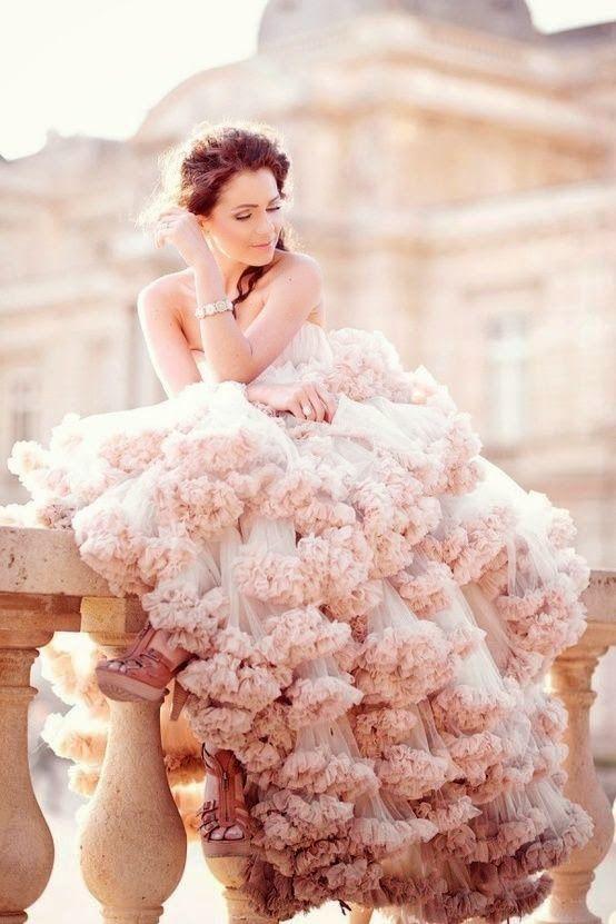 Свадьба - Bubbly wedding dress
