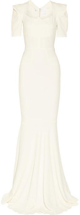 Boda - Roland Mouret Jansen stretch-crepe gown