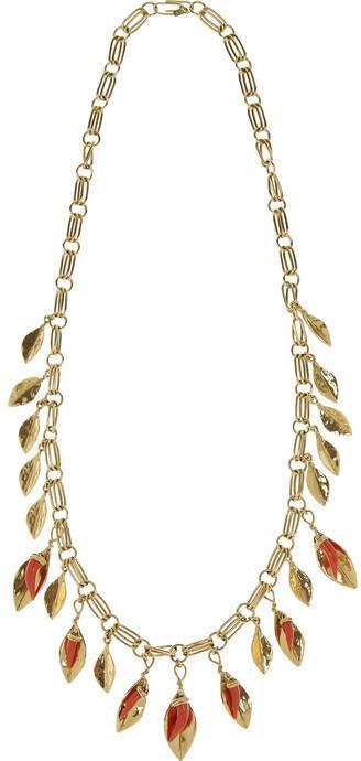 Mariage - Aurélie Bidermann Monteroso gold-plated necklace