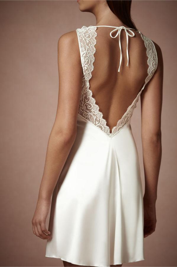 Свадьба - Chantilly Chemise