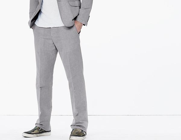 Hochzeit - Linen Cotton Suit Pant