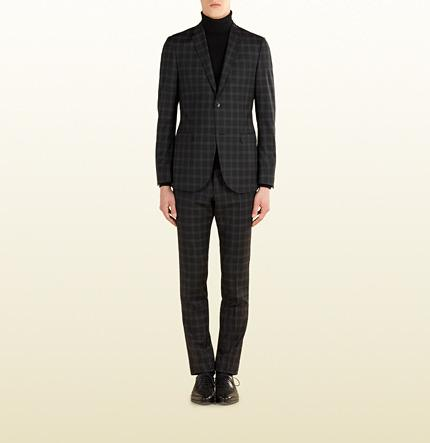 Wedding - Check Print Wool Dylan '60 Suit