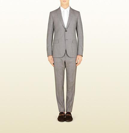 Свадьба - Light Grey Ceremony Suiting Monaco Suit