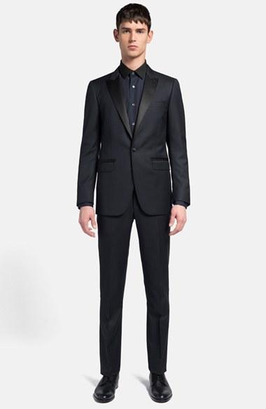 Свадьба - Lanvin 'Attitude' Navy Wool & Silk Tuxedo