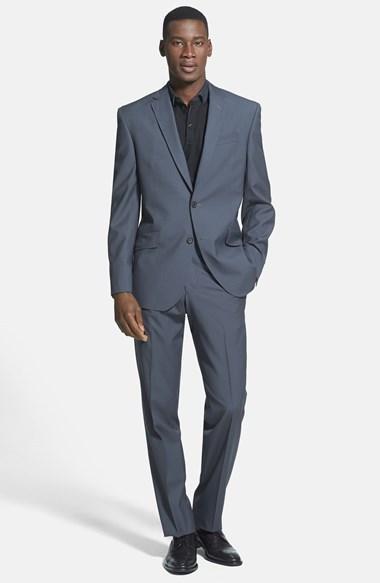 Wedding - Ted Baker London 'Jones' Trim Fit Check Suit (Online Only)
