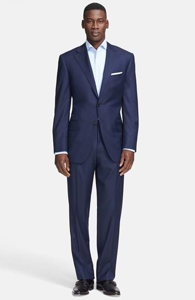 Свадьба - Canali Classic Fit Wool Suit