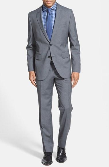 Свадьба - BOSS HUGO BOSS 'James/Sharp' Trim Fit Wool Suit (Online Only)