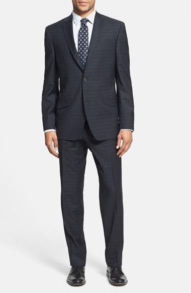 Свадьба - Ted Baker London 'Jones' Trim Fit Plaid Suit