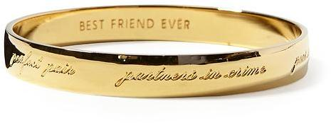 Kate Spade New York Bridesmaid Idiom Bangle