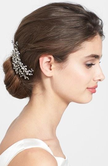 Hochzeit - WEDDING BELLES NEW YORK 'Brilliance' Hair Comb