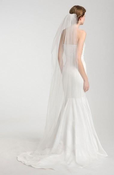 Mariage - Nina Demi Single Tier Cathedral Veil