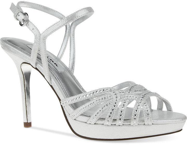 Hochzeit - Nina Flirty Evening Sandals