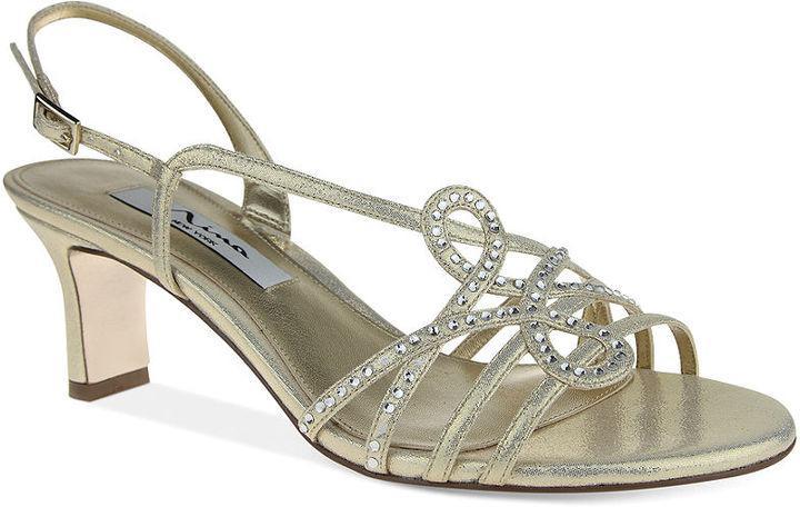 Hochzeit - Nina Garland Evening Sandals