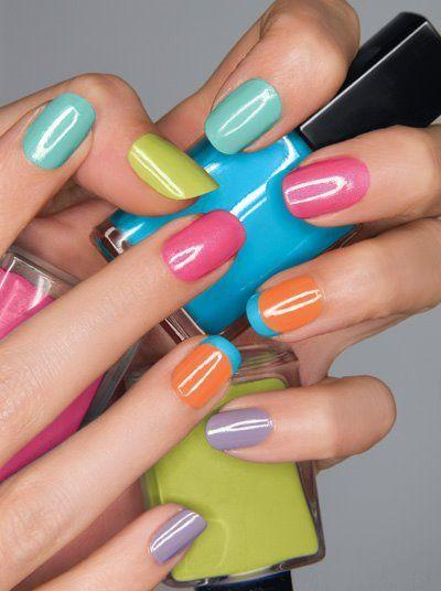 Свадьба - Top Nail Paint Shades 2013