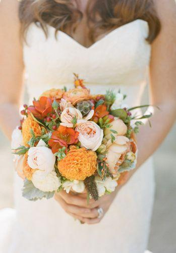 Düğün - Fall Bouquet