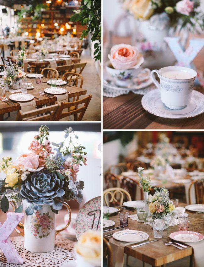 Mariage - Country Chic Smog Shoppe Wedding: Nicole   Joey