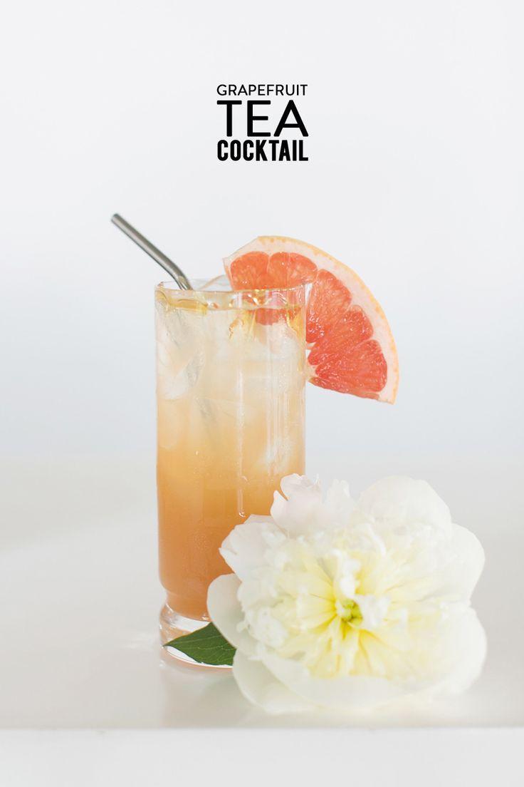 زفاف - Grapefruit Tea Cocktail