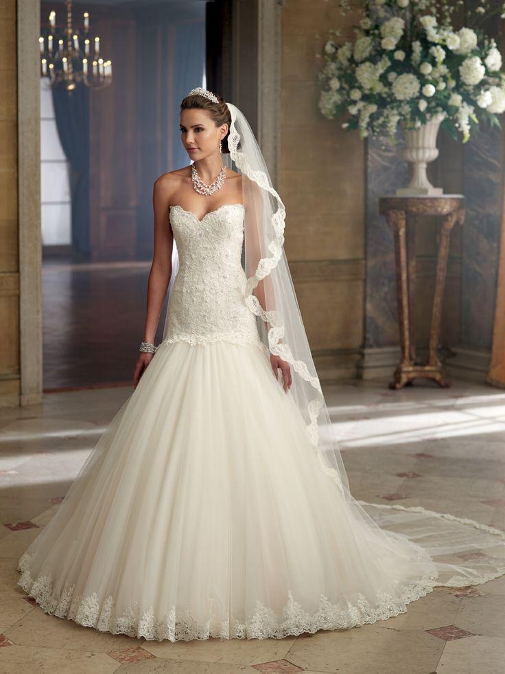 Hochzeit - Strapless Wedding Dress Inspiration