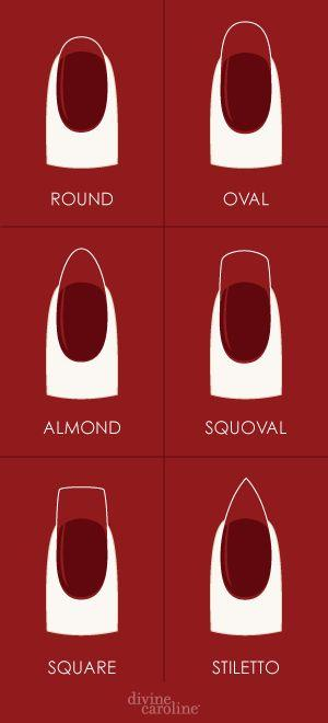 Hochzeit - How To Shape Your Nails