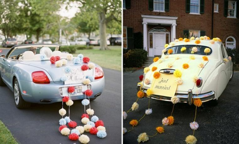 Свадьба - Car decorations