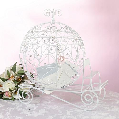 Свадьба - Wedding Fairy Tale CINDERELLA COACH CARD HOLDER BOX