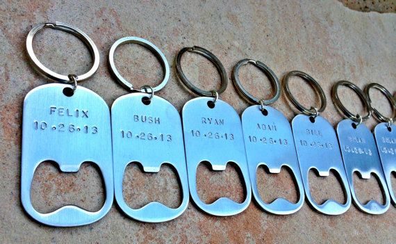 Groomsmen Gifts For The Groomsmen Personalized Key Chains Bottle Opener Wedding Gifts For Groomsmen Custom Key Chains & Groomsmen Gifts For The Groomsmen Personalized Key Chains Bottle ...