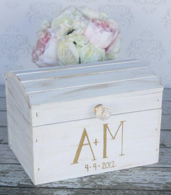 Wedding Card Box Vintage Shabby Chic Decor