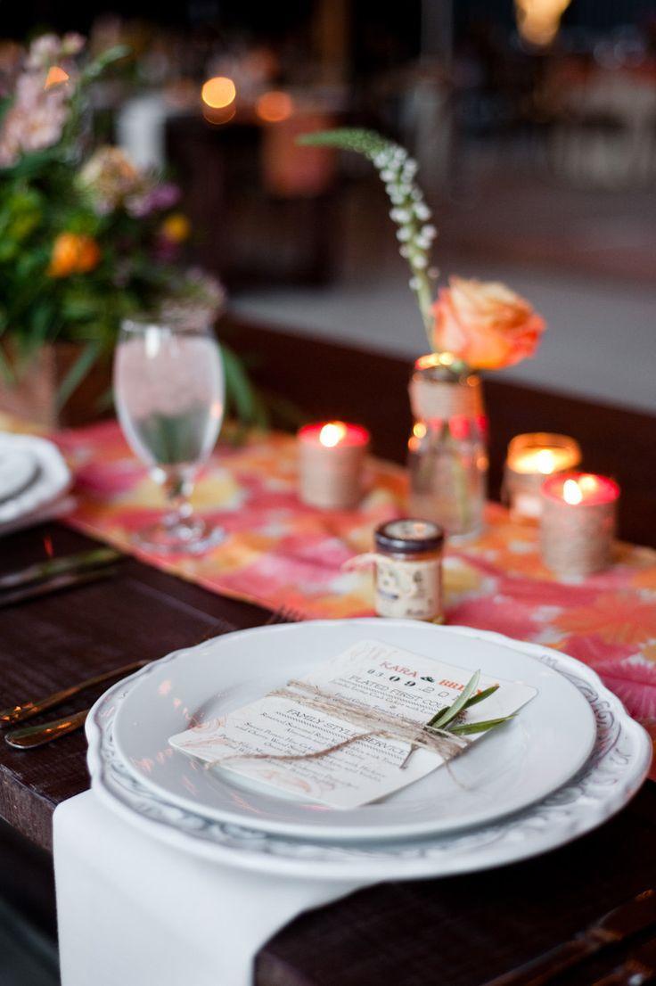 زفاف - Place Settings