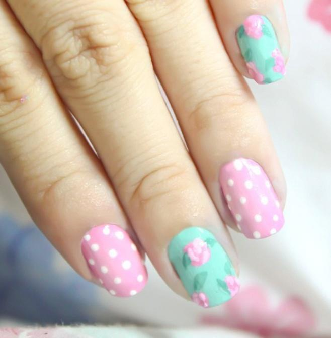 50 Spring Nail Art Ideas To Spruce Up Your Paws #2159537 - Weddbook