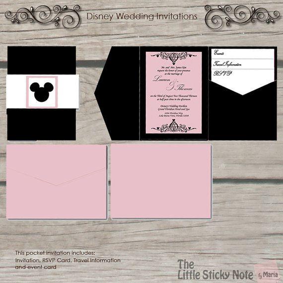 Wedding - Disney Wedding Invitation
