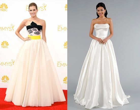 Düğün - The 2014 Emmys Red Carpet Goes Bridal!