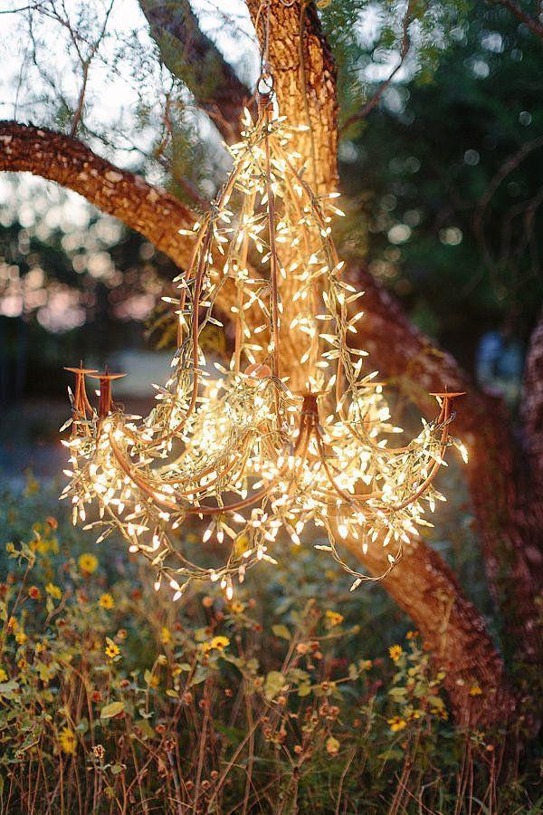 زفاف - 13 Ways To Decorate With String Lights Right Now