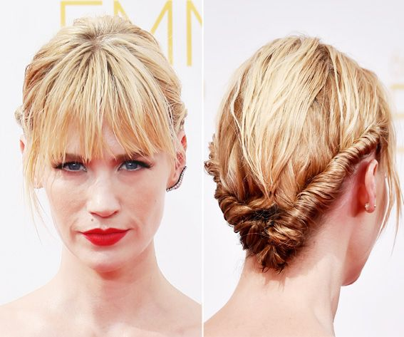 Wedding - Best Beauty Moments From The 2014 Emmys - January Jones