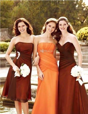 Свадьба - {It's Fall Y'all}: A Palette Of Burnt Orange, Chocolate, Latte   Ivory