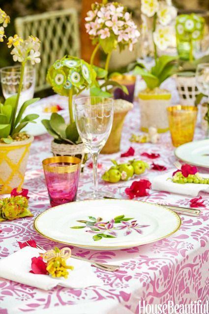 Свадьба - Garden Tablescapes