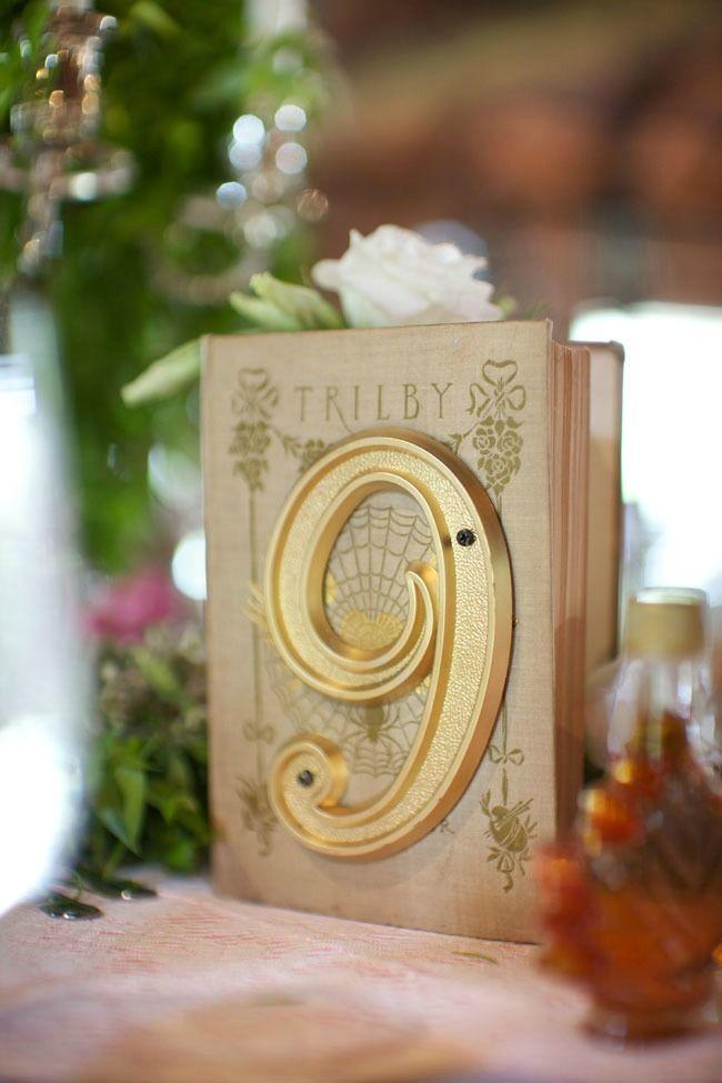 Mariage - Unique Table Number
