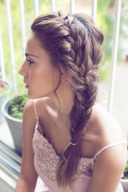 Wedding - Pinterest Braids: Hairstyles You'll Freak Out Over